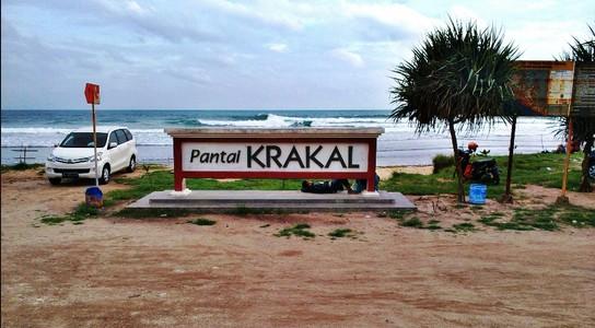 wisata pantai Krakal