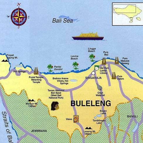 3 Tempat Wisata Di Bali Utara Yang Harus Anda Kunjungi