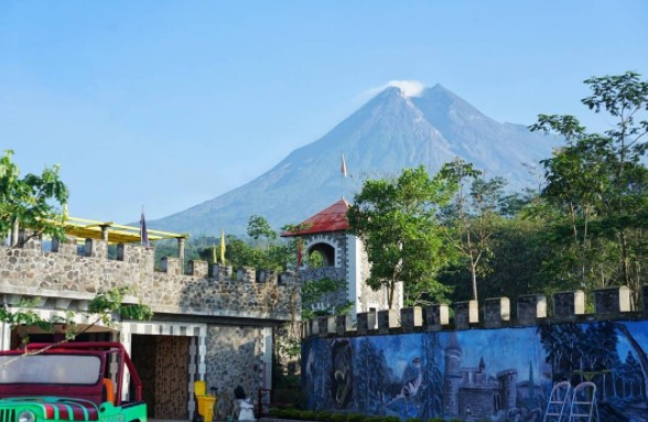 The Lost World Castle Merapi