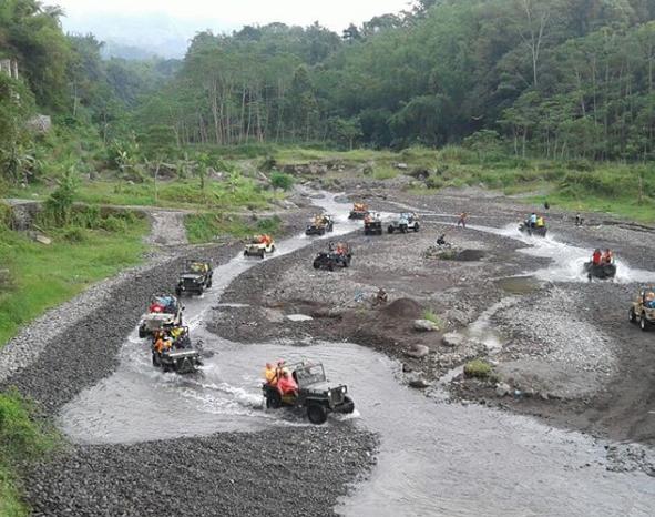 Persiapan Lava Tour Merapi
