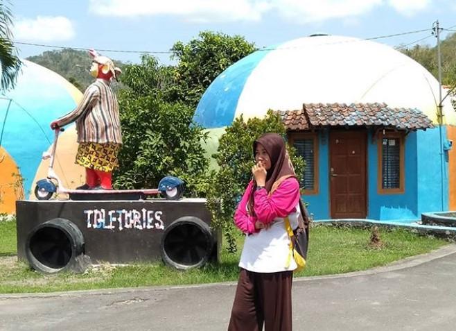 Desa Wisata Dome Teletubies