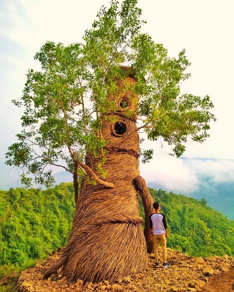 spot foto watu payung