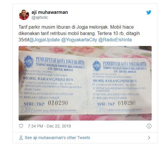 Biaya-Tarif-Pakir-Malioboro