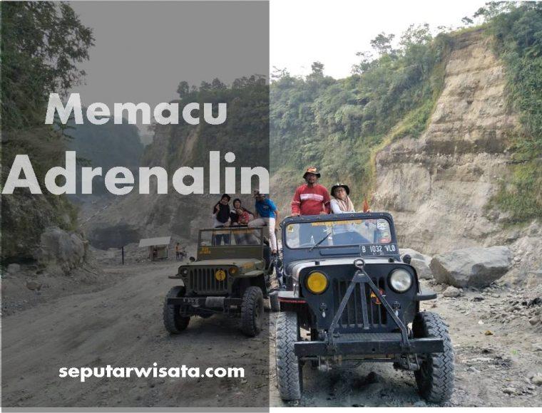 Memacu Adrenalin di lava Tour Merapi