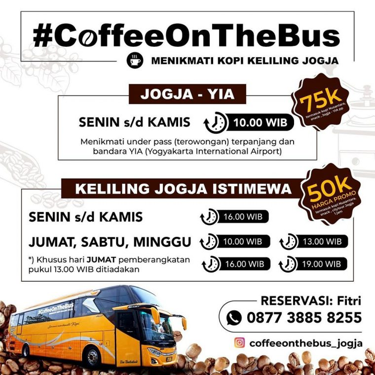 Jadwal Coffee On The Bus