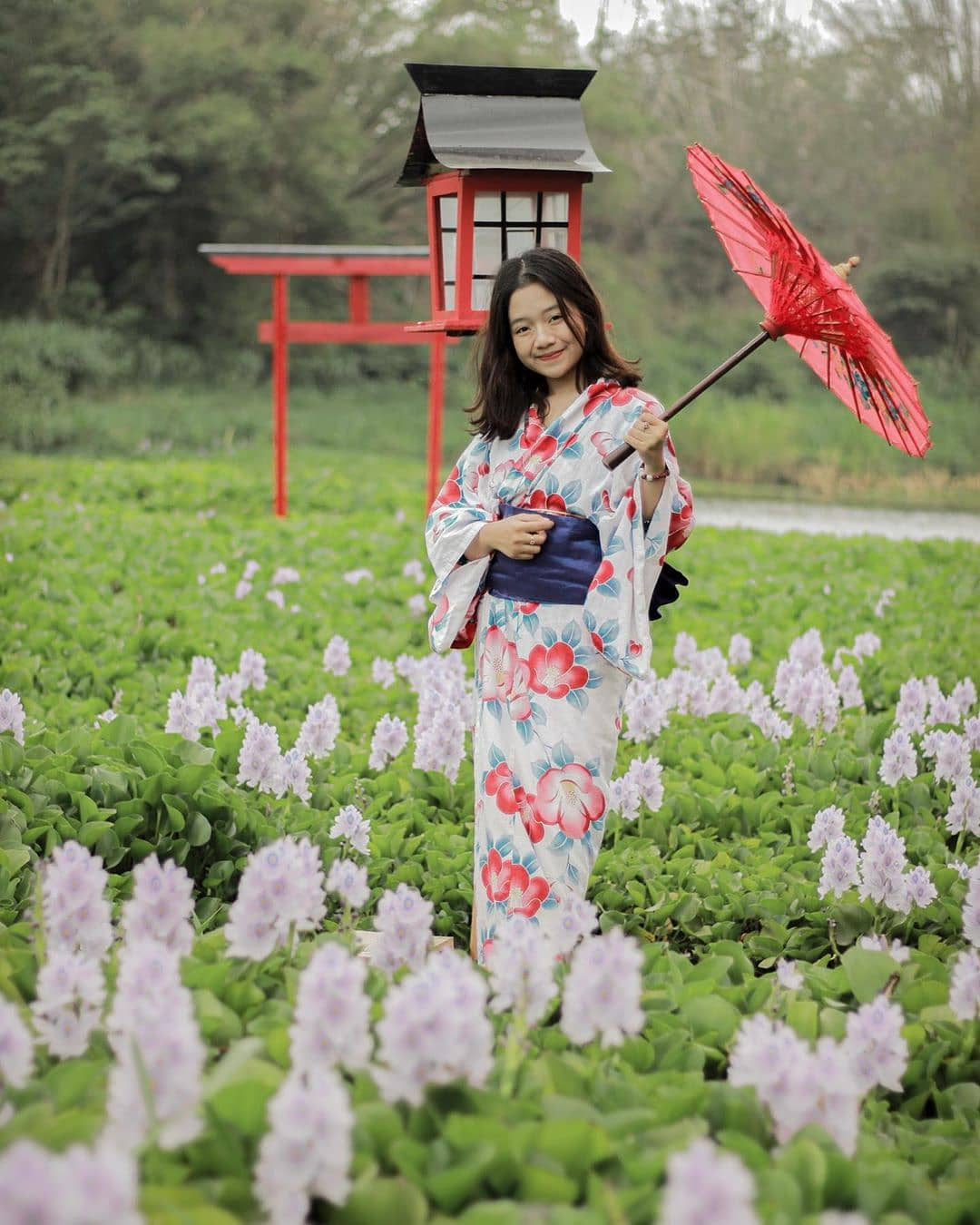 Konsep Wisata Jogja Ala Jepang Terbaru di Kalinanmpu Natural Park