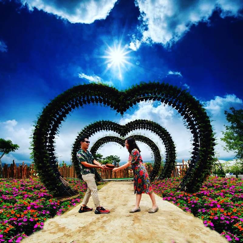 Batu Love Garden, Wisata 600 Jenis Bunga Di Kota Batu Malang Jawa Timur