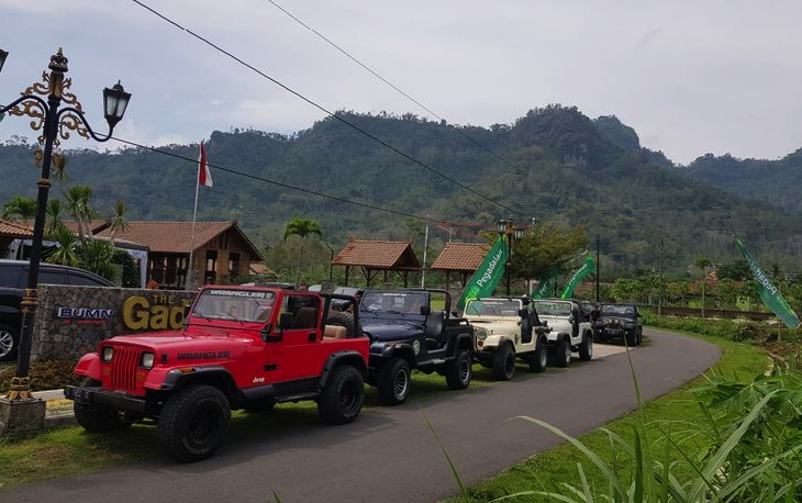 Jeep Wisata Borobudur