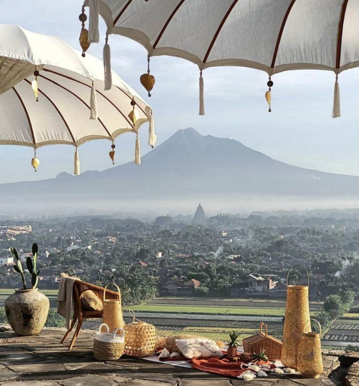 Suwatu Villa Dengan Pemandangan Merapi