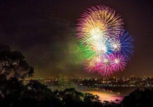 Tahun Baru di Bukit Bintang