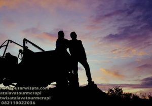 jeep merapi sunrise